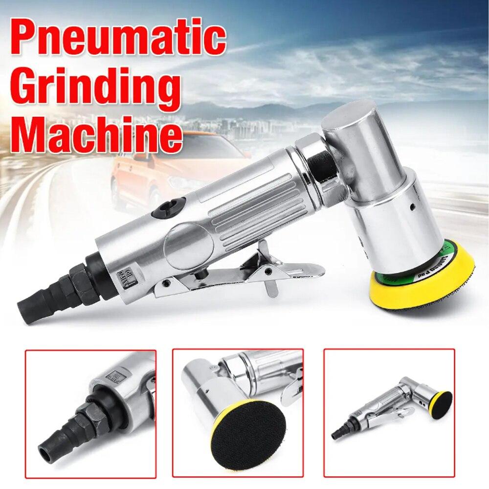 Máquina de Polimento Rolketu Lixadeira Pneumática 15000rpm Mini Moagem 4.0cfm 90psi Ginding Ferramenta Elétrica 2 ar