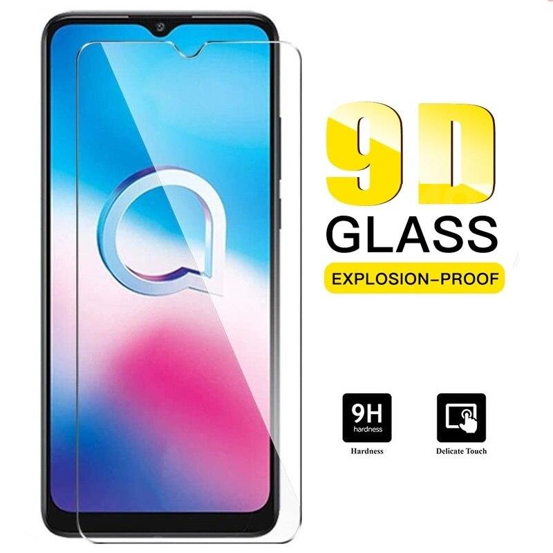 Vidro temperado para para para alcatel 1 sp 2020 protetor de tela 9h vidro protetor em sfor alcatel 1 se 1se 5030f 5030u capa de vidro