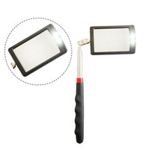 1pcs Auto LED Light Extendible Inspection Mirror Endoscope Car Chassis Angle View Automotive Telescopic Detection Tool Equipment