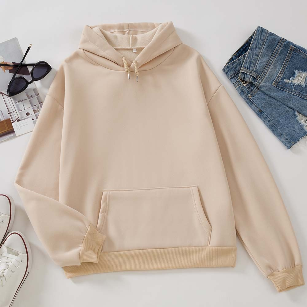 Oversized Hooded Sweatshirts Women Black Hoodie Women's Sweatshirt Hoodies Ladies Long Sleeve Casual Warm Pullover Clothes