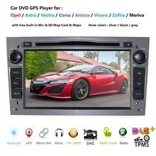 2 Din voiture DVD GPS Navigation pour Opel Astra H G J Antara vectra c b Vivaro astra H corsa c d zafira b unité multimédia tpms dab +