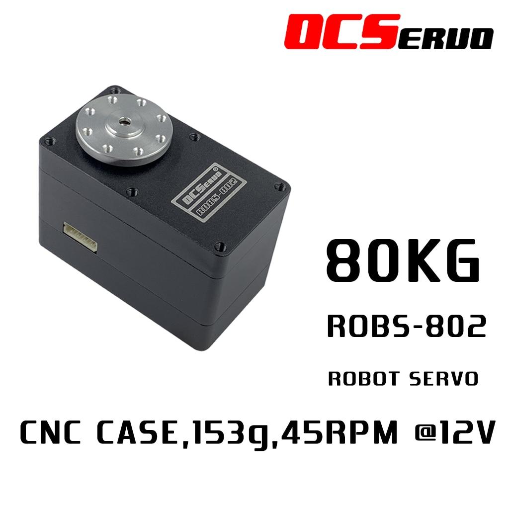 80kg.cm torque 153g UART Bus Robot Servo ROBS-802 For Robot DIY