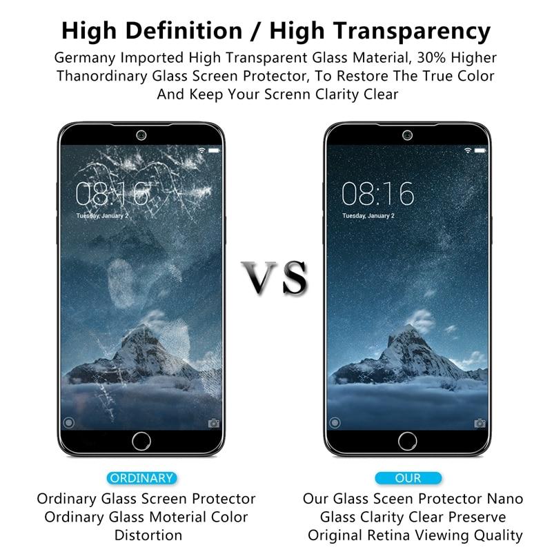 2pcs For Meizu 15 Lite Premium 2.5D 0.26mm Tempered Glass Screen Protector For Meizu 15 Lite Protective Glass
