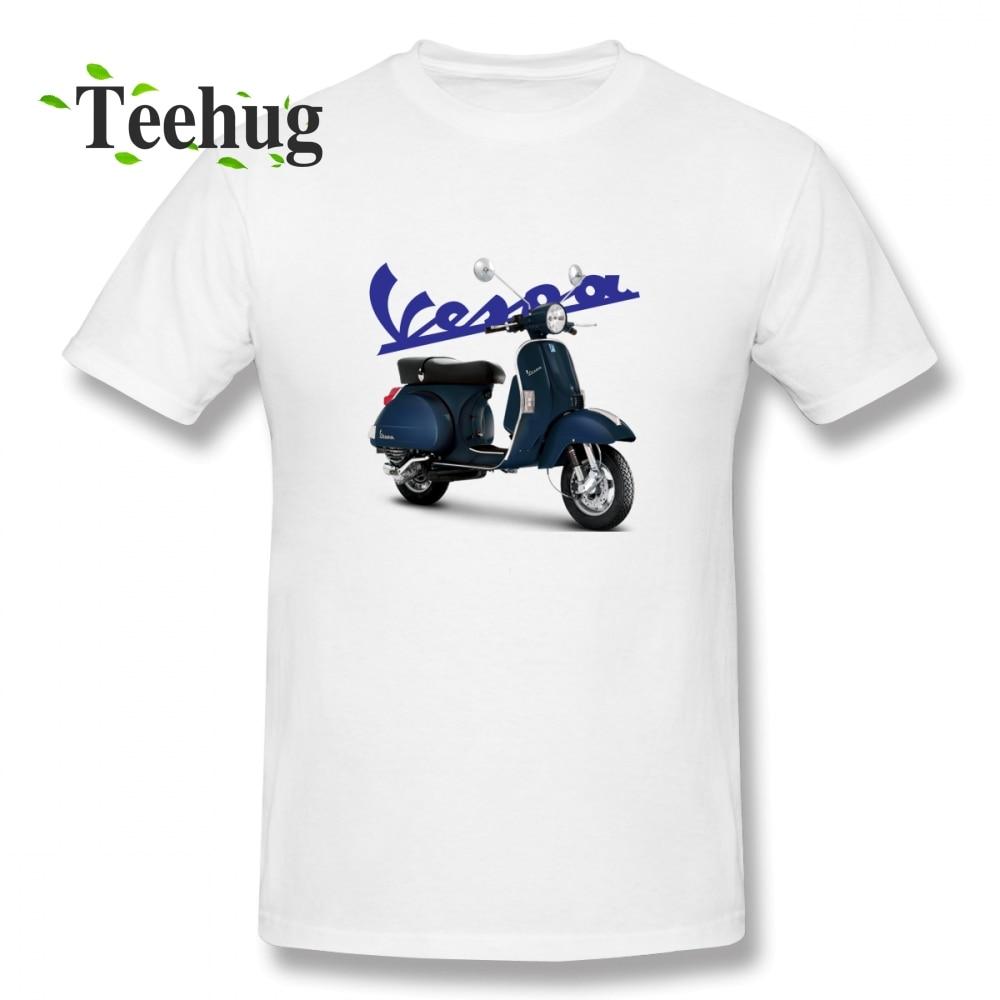 Vintage Vespa T Shirt Cool Men Popular Unique Design For Boy Quality Cotton Homme Tee