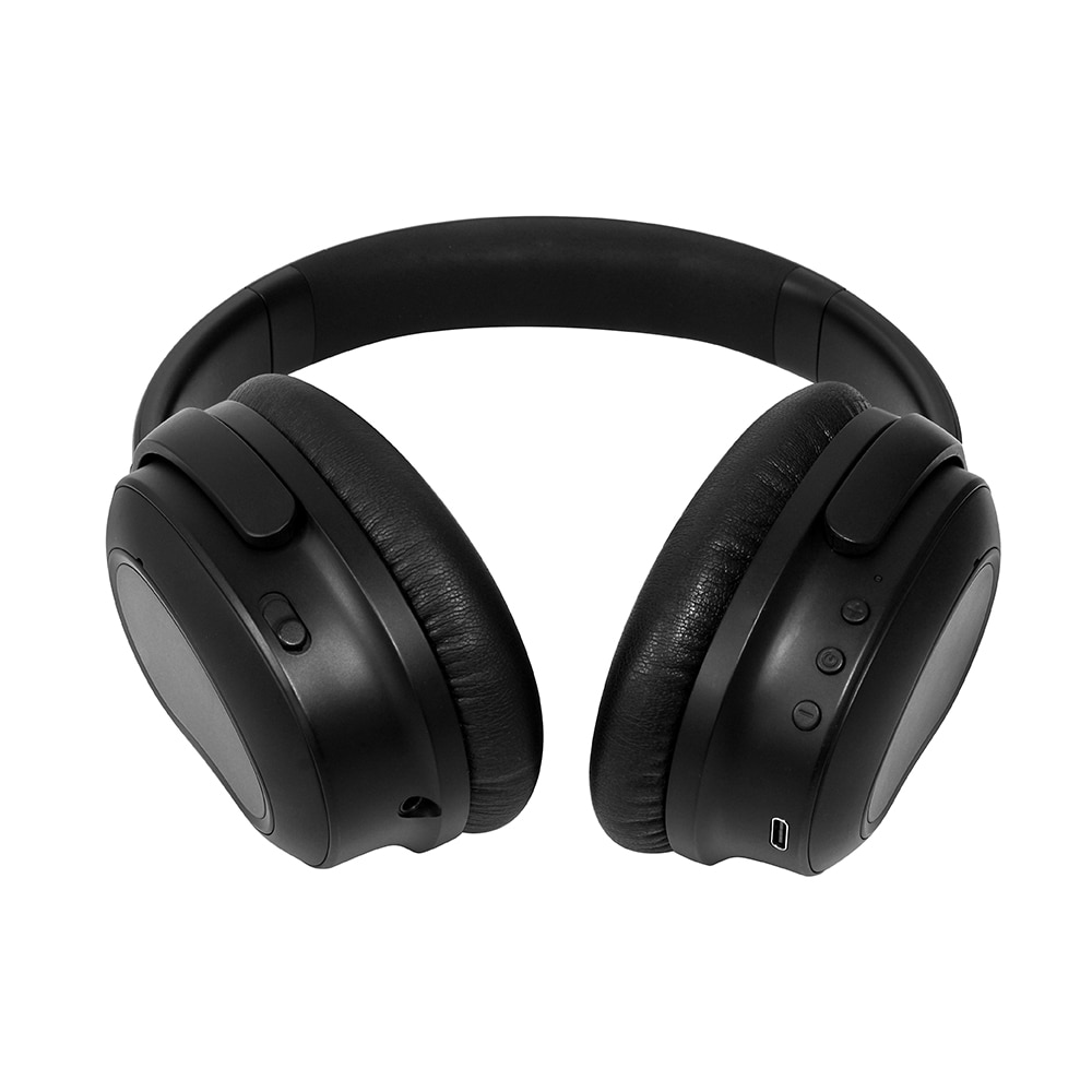 TRULYPLUS Noise Cancelling Headphones with Active Noise Cancelling Wireless Over Ear Bt Headphones enlarge