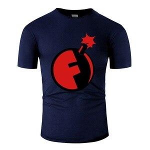 Модная мужская футболка с круглым воротником размера плюс S-5xl из 100% хлопка
