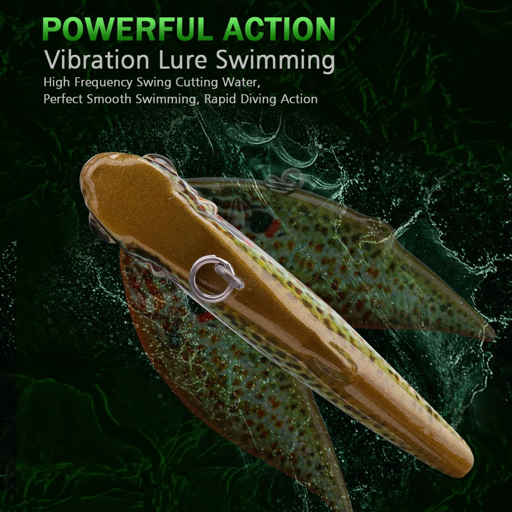 GOBASS Goods For Fishing Wobblers Lure Sets Sinking Vibration VIB Lure Pike Crankbait Fishing Tackle 2020 Hard Artificial Bait enlarge