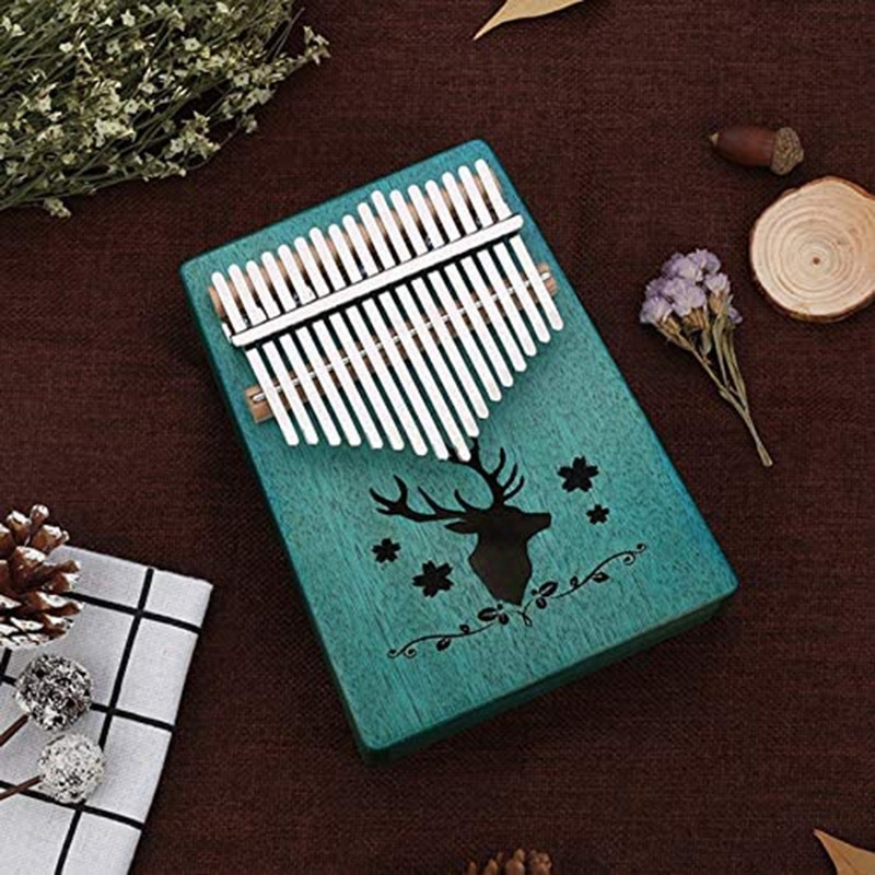 17-Key Thumb Piano, Finger Piano, Musical Instrument Kalimba , Portable Gifts for Children and Adults enlarge