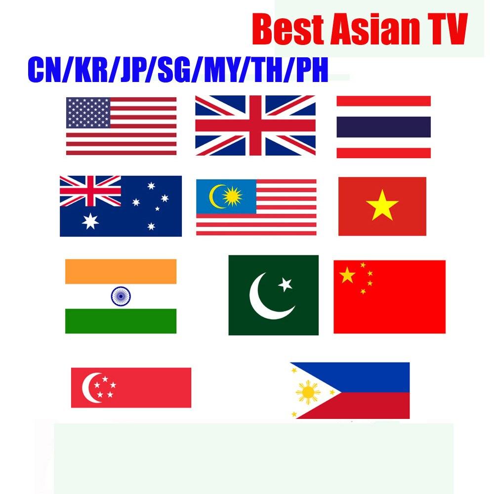 1 año de garantía caliente para el mercado asiático Japón Corea Malasia SG Dispositivo de tv inteligente x96mini H96MAX H96 mini funciona android IPTV tv box sólo
