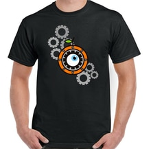 A Clockwork Orange Mens Retro 70S Movie T-Shirt Film Stanley Kubrick Top Festive Tee Shirt