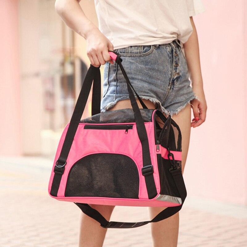 Наружный рюкзак для домашних животных, кошек и собак, сумка для переноски, сумка для путешествий, отбеливаемая сетка для домашних животных, ...