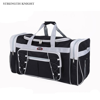 Men Waterproof Travel Bags Large Capacity Women Luggage Travel Duffle Bags Canvas Big Travel Handbag Folding Trip Bag