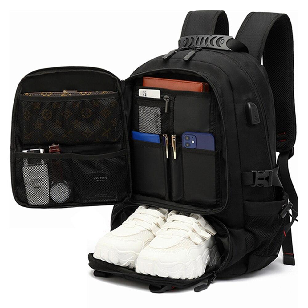 حقيبة ظهر رجالية لتسلق الجبال في الهواء الطلق الترفيه سعة كبيرة السفر اضافية كبيرة حقيبة مدرسية 60L الأمتعة حقيبة ظهر كبيرة
