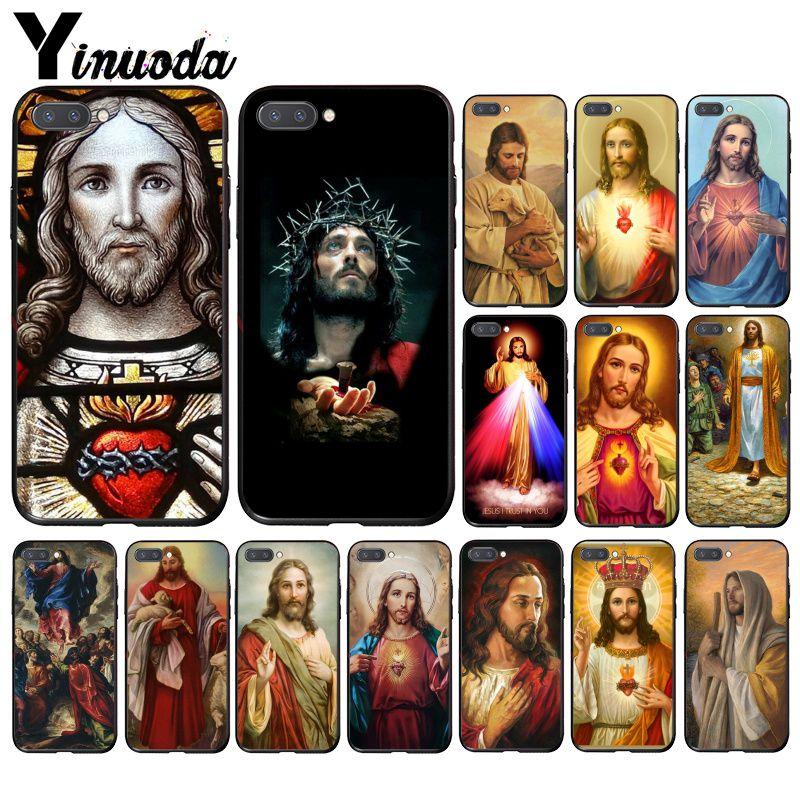 Yinuoda Jesús Cristo Dios te bendiga funda del teléfono para Huawei Honor 8A 8X 9 10 20 Lite 7A 5A 7C 10i 9X pro jugar 8C