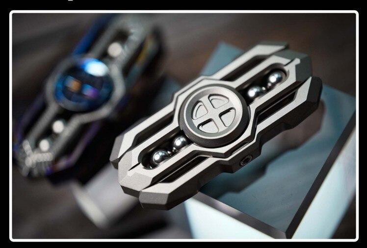 Titanium Alloy Holy Sword High Speed Rotation Fidget Spinner Anti Stress ADHD Autism Hand Spinner EDC Antistress Toy enlarge