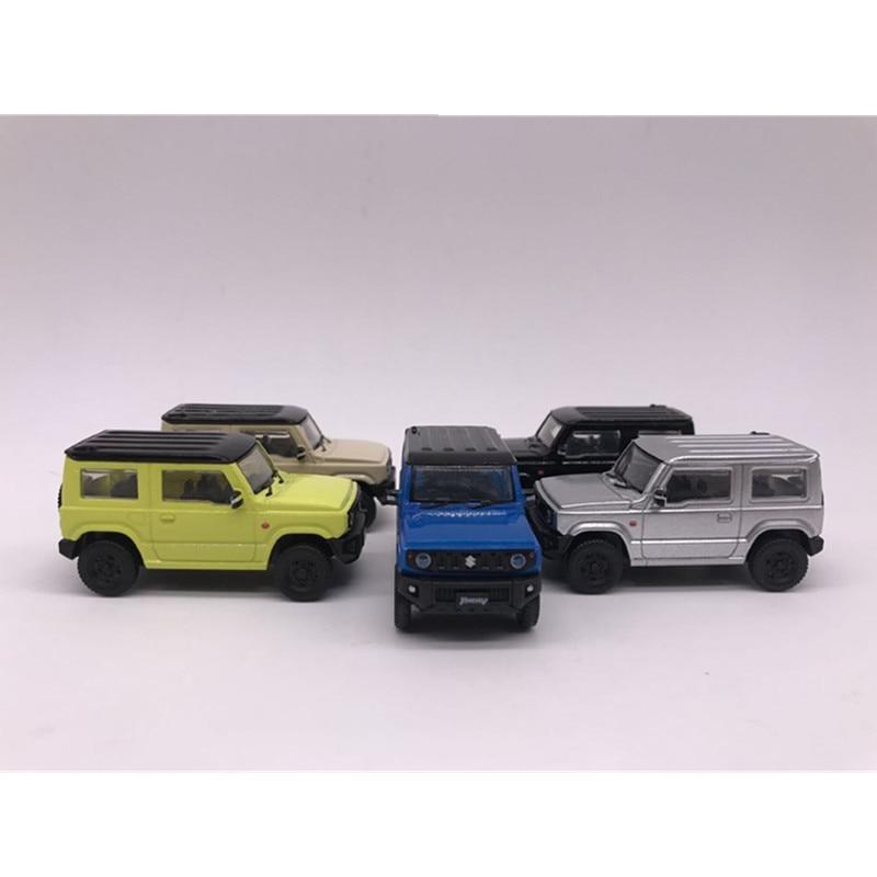 AOSHIMA 1:64 SUZUKI Jimny Children's Toy Car Model. A set of five colours for sale