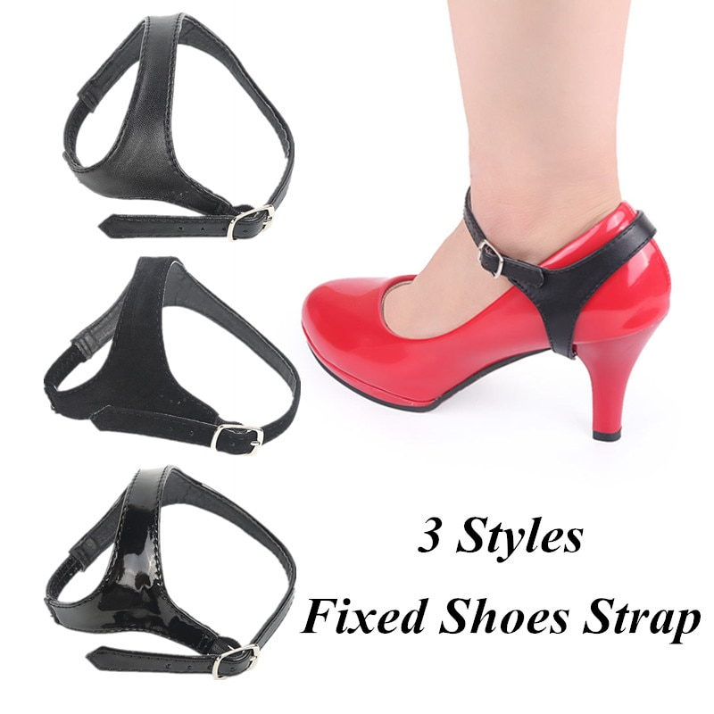 AliExpress - Convenient 3 Styles Anti-Loose Adjustable Detachable Leather Fixed Shoes Strap For Lady Woman High Heels Fashion Beauty