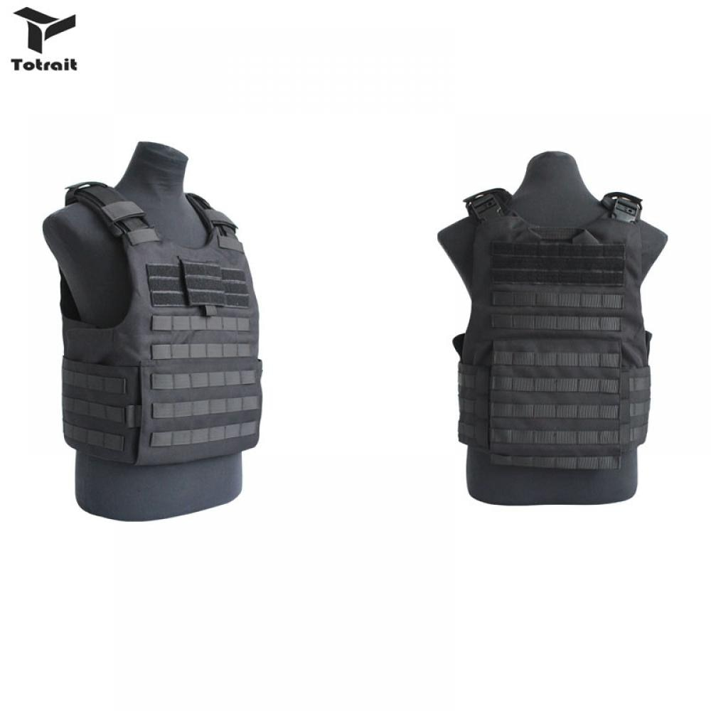 Tactical Airsoft Paintball Combat Protective Military Vest Plate Carrier Outdoor Adjustable Hunting Vest