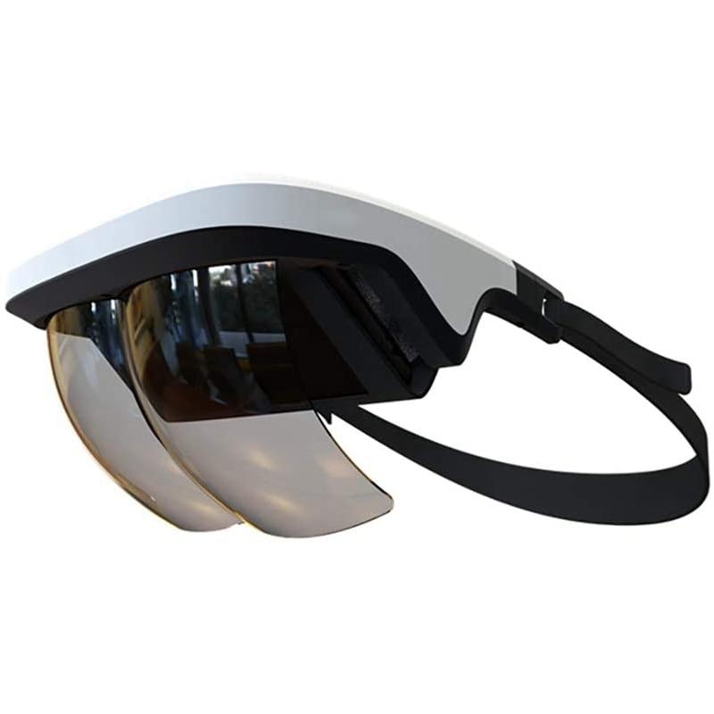 AR سماعة الرأس ، نظارات AR الذكية ثلاثية الأبعاد الفيديو الواقع المعزز VR سماعة نظارات آيفون و أندرويد ثلاثية الأبعاد أشرطة الفيديو والألعاب