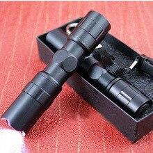 Portable Mini 2000LM lampe de poche LED poche lumière torche étanche haute puissance tactique puissant pour chasse lampe lanterne 206