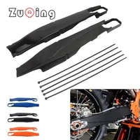 motorcycle swingarm swing arm protector cover for exc 2012 2019 for husqvarna tc fc te fe 125 250 350 450 2014 2019