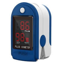Finger Oximeter Digital Fingertip Pulse Oximeter Blood Oxygen Saturation Meter Finger SPO2 PR Heart Rate Monitor Health Care