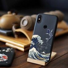 Para Xiaomi Mi Poco X2 8 Pro SE 8SE Explorer CC9 CC9e A3 Lite Mix 3 2S 2 6X A2 6 Funda con relieve 3D Funda blanda en relieve