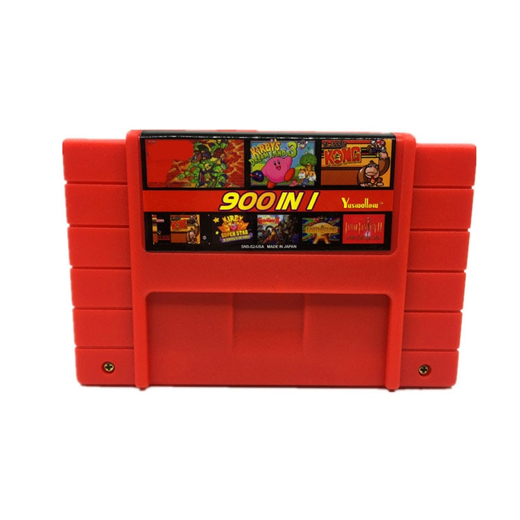 DIY 900 in 1 Super China Remix Game card for 16 Bit Game Console Game Cartridge Support all USA/EUR/Japan Consoles