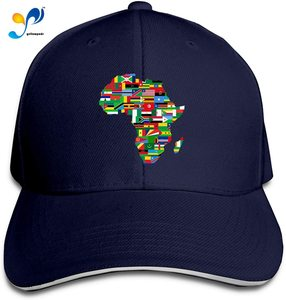 Africa Flags Casquette Sunhat Adjustable Sandwich Cap Baseball Hats