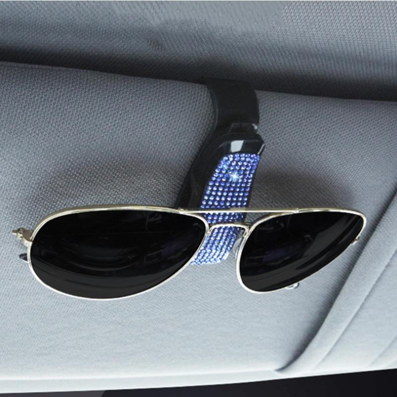 Держатель для очков, автомобильный солнцезащитный козырек, зажим для очков, зажим для солнцезащитных очков, билетов, карт, многофункциональ...