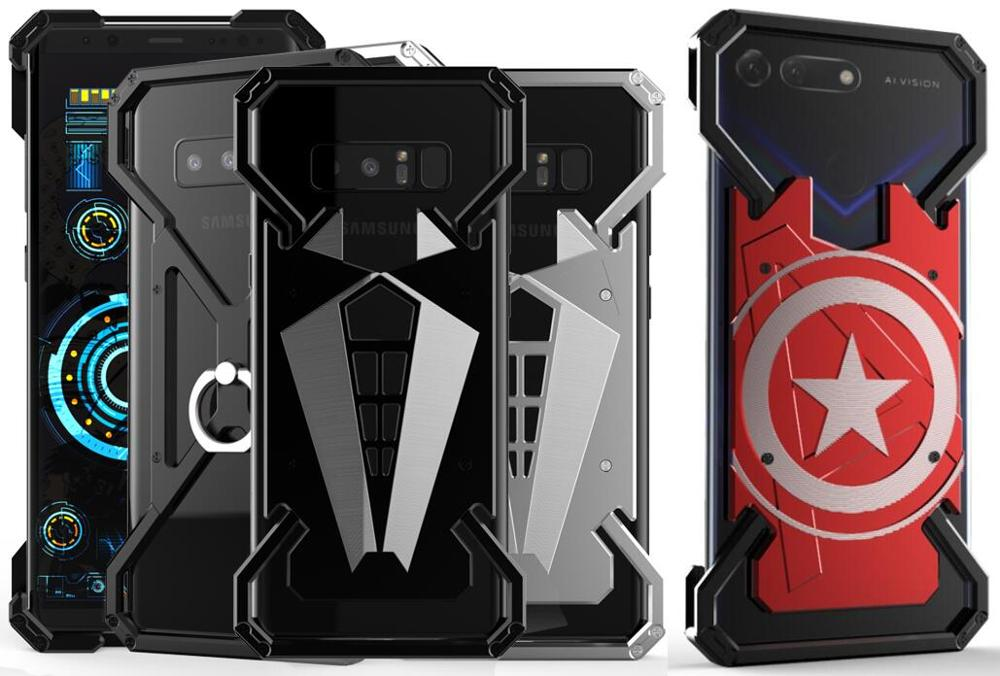 Super Hero Metal Case For Huawei Nova 6 Se Nova 5 Pro 5i Nova 4 3 3i 3e 2 Plus 2s Case Cover Spider Man Ring Phone Shell Bag