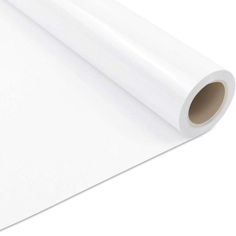 لفافة خلات الفينيل الحراري نقل ، وسهلة لقطع والأعشاب الأبيض الحراري نقل الفينيل لتقوم بها بنفسك تصميم الصحافة الحرارة مناسبة لتي شيرت