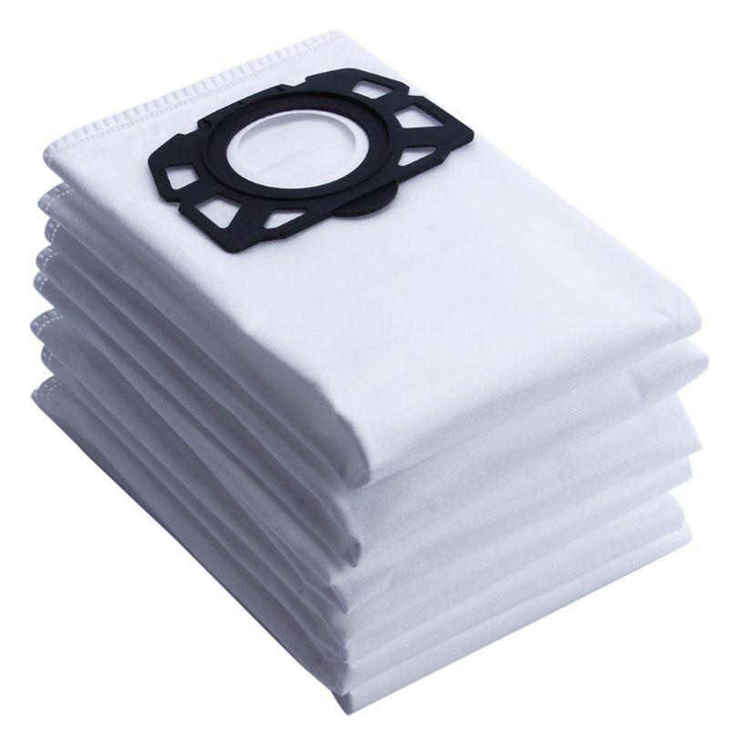 10pcsVacuum نظافة الغبار أكياس المتاح ل كارشر MV4 MV5 MV6 WD4 WD5 WD6