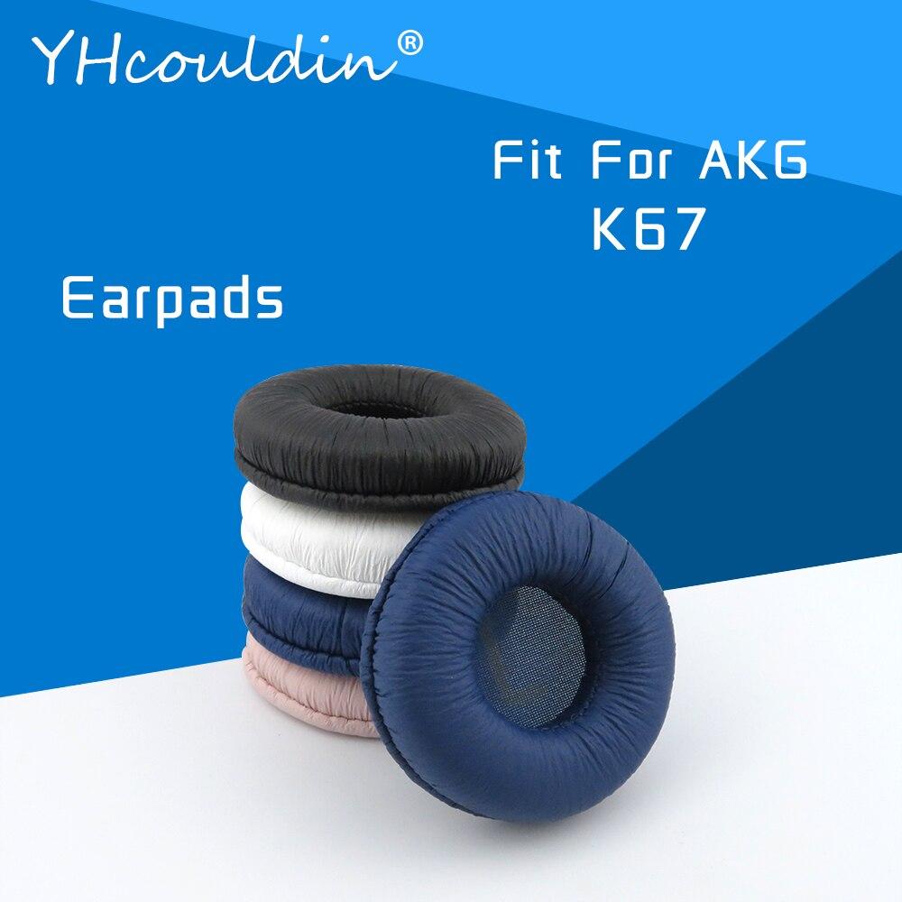 Almohadillas para auriculares AKG K67, accesorios de repuesto para auriculares, almohadillas para...