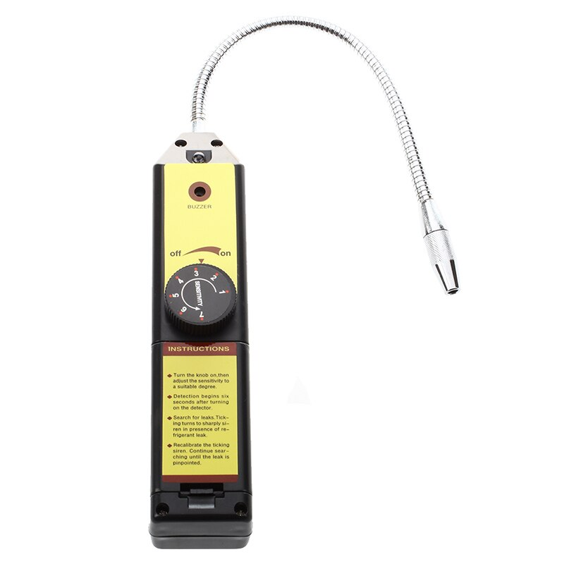 Detector de fugas de halógeno automático Freon R134a R410a R22a aire acondicionado HVAC