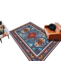 retro persian turkish style parlor carpet living room bedroom 140x200cm office hotel carpets