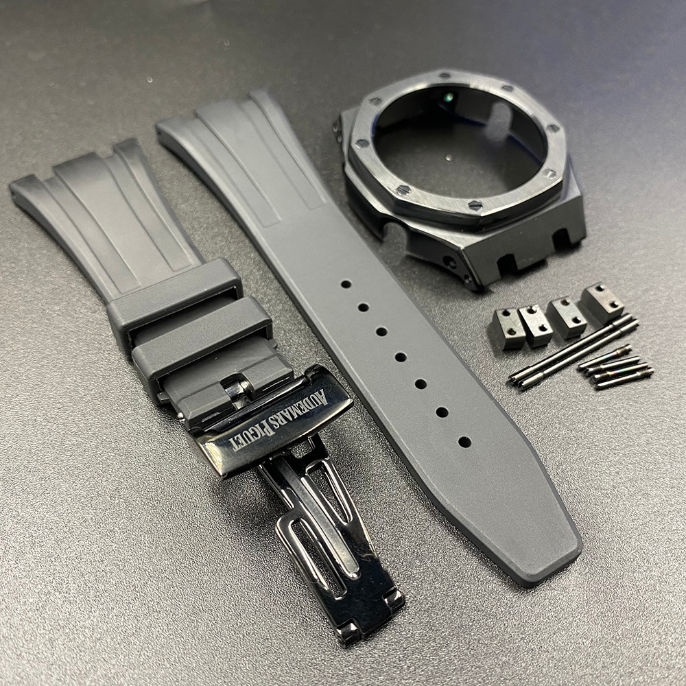 3rd GA2100 Band+Bezel for Casio GA-2110 GA-2100 G-Shock  Rubber Watchband Rubber Wristband and MetalCase Butterfly Buckle Strap enlarge