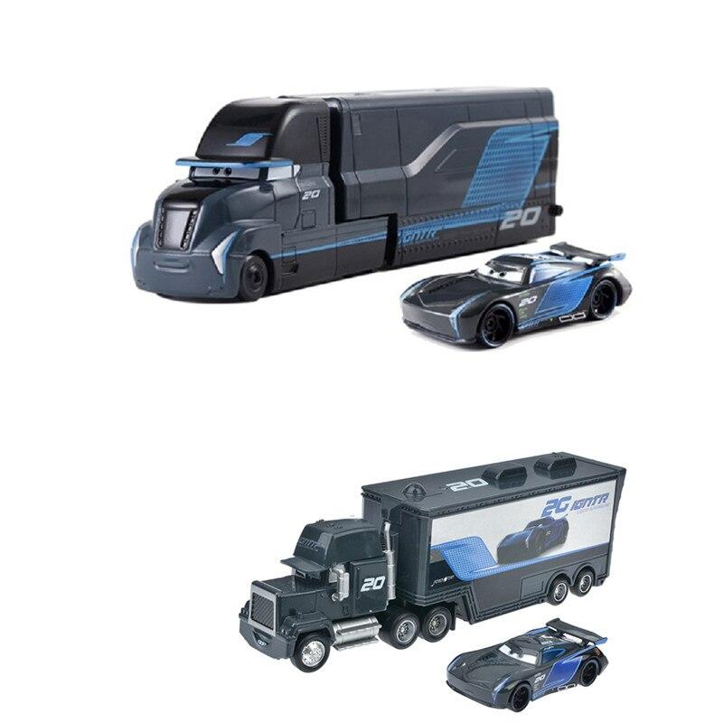 Новые модели автомобилей Disney Pixar «Тачки 2 3», игрушки Джексон шторм, Мак, дядюшка, 1:55, литые модели машинок, игрушки для детей, подарок на день р...