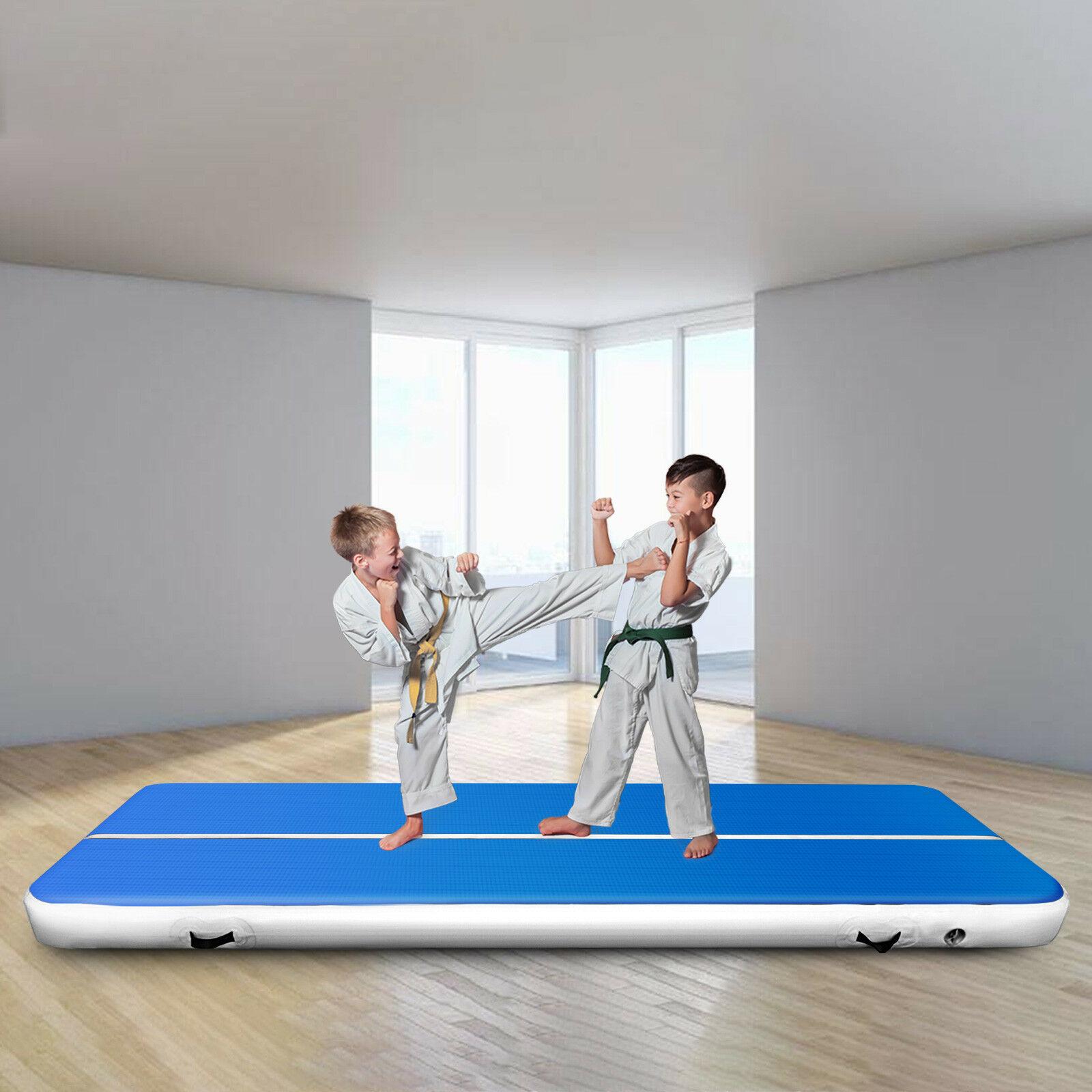 3M Inflatable Track  Gym Tumble Airtrack Floor Yoga Tumbling wrestling Yogo Electric Air Pump EU/American Warehouse Spot
