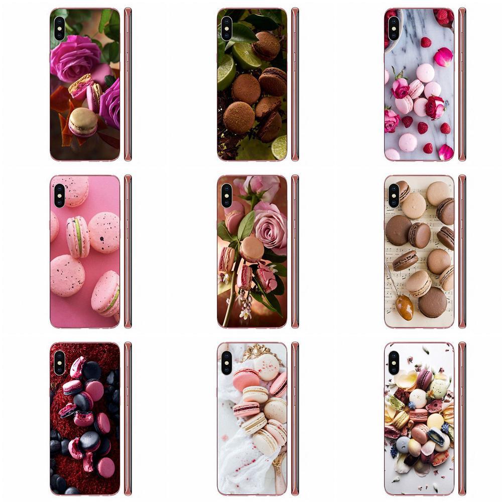 Coque en TPU housse Capa Macaron Laduree pour Huawei Honor Mate Nova Note 20 20s 30 5 5I 5T 6 7I 7C 8A 8X 9X 10 Pro Lite Play