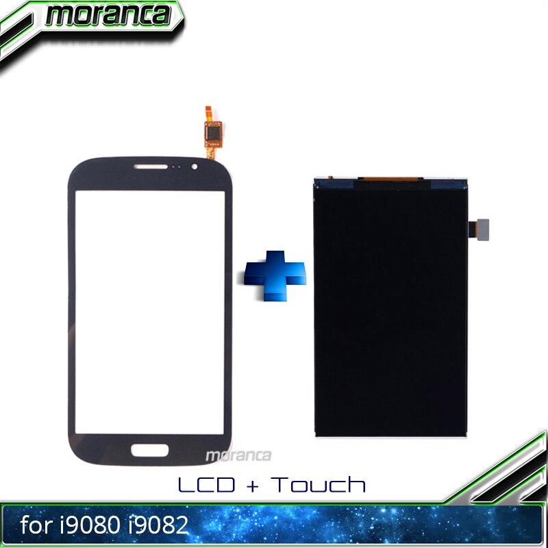 Pantalla LCD I9080 de 5,0 pulgadas para Samsung Galaxy Grand Duos i9082 GT-i9082 i9080 GT-i9080 pantalla LCD Panel Monitor módulo