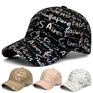 New Spring and summer letters new hats Korean men's fashion sports baseball caps ladies outdoor sun shade caps