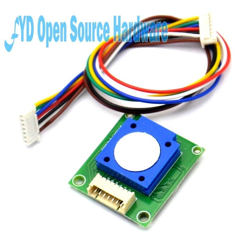 1 Uds. Módulo Sensor ZE25-O3 ozono O3 Sensor de Gas