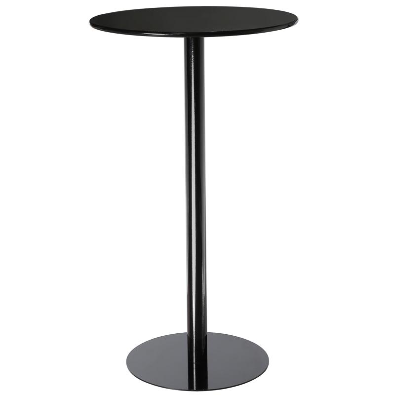 Фото - Современный простой круглый обеденный стол, барный стол, магазин молочного чая, металлический удобный высокий стол барный журнальный столи... [магазин сша] кованый железный стеклянный высокий барный стол патио барный стол черный
