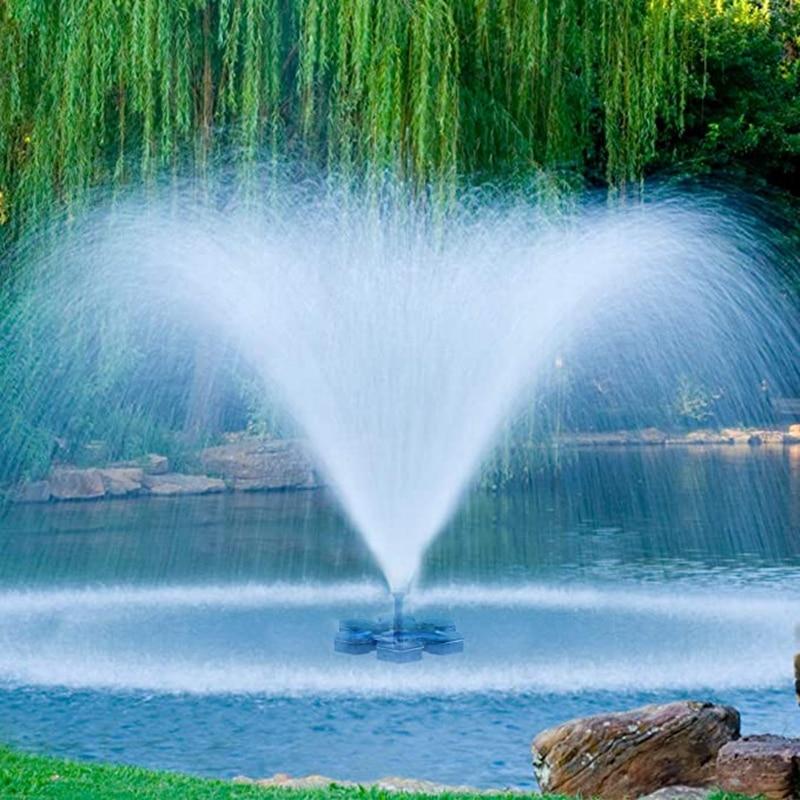 Güneş çeşme pompası güneş enerjili kuş banyosu çeşme pompası GÜNEŞ PANELI kiti su pompası açık sulama dalgıç pompa