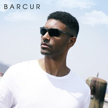 BARCUR Sports Men Polarized Sunglasses Men Night Driving Glasses
