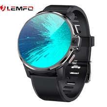 LEMFO LEMP 2021 смарт часы мужские 4G WIFI Android Двойные системы 64GB ROM 1050 MAh Big Battery Двойные камеры Smartwatch GPS