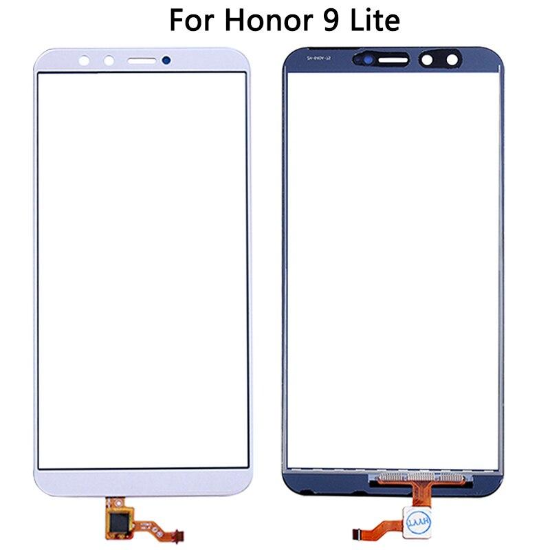 10 Uds para Huawei Honor 9 Lite Sensor táctil digitalizador LCD reemplazo del panel de vidrio exterior frontal nuevo para Honor 9 Lite pantalla táctil