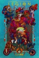 Affiche en soie imprimee Legion TV  24x36 pouces  decor mural pour la maison