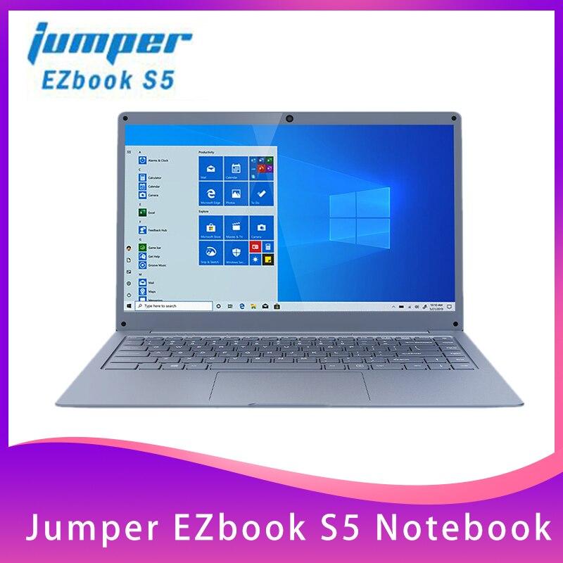 Jersey EZbook S5 portátil de 14,0 pulgadas Apollo N3350 6GB DDR4L + 64GB eMMC Windows 10 1920*1080 FHD ultrafino portátil